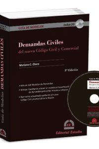 Descargar Demandas Civiles Del Nuevo Codigo Civil Y Comercial + Cd Otero Mariano