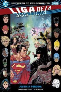Descargar Liga De La Justicia Vol . 5 - Justicia Perdido Priest L