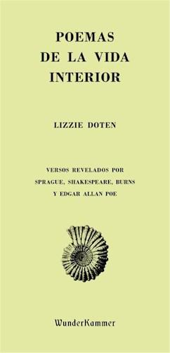 Libro Poemas De La Vida Interior .Versos Revelados Por Sprague, Shakespeare, Burn