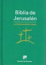 Libro Biblia De Jerusalem Latinoamerica Tapa Dura De Bolsillo