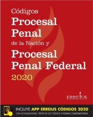 Libro Codigos Procesal Penal De Nacion Y Procesal Penal Federal 2020