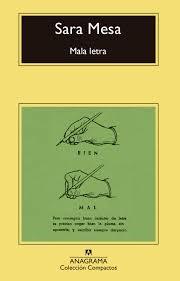 Libro Mala Letra