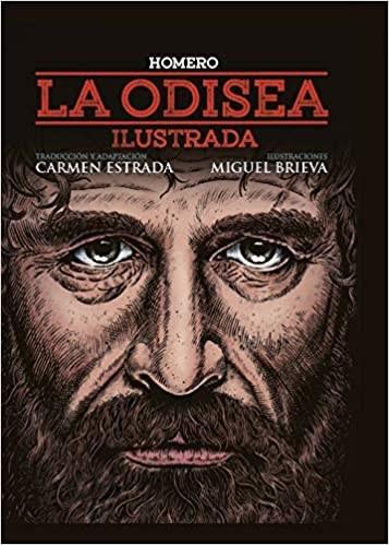 Libro La Odisea ( Ilustrada )