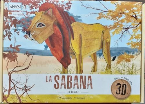 Libro La Sabana : Leon 3D