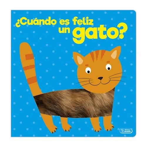 Libro Cuando Es Feliz Un Gato ?