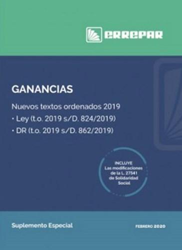 Libro Ganancias : Nuevos Textos Ordenados 2019
