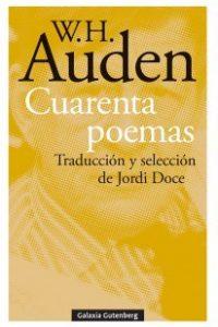 Descargar Cuarenta Poemas Auden Wystan Hugh