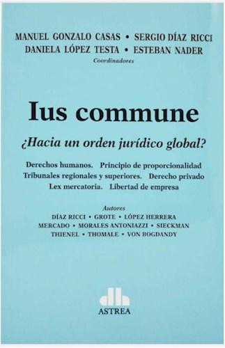 Libro Ius Commune