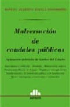 Libro Malversacion De Caudales Publicos