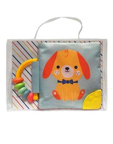 Libro Mi Libro Suave Con Sonajero Y Mordillo: Perro