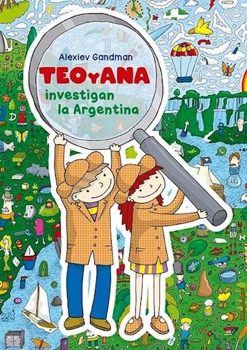 Libro Teo Y Ana  Investigan Los Animales