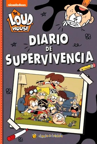 Libro The Loud House : Diario De Supervivencia