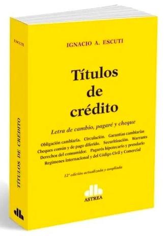 Libro Titulos De Credito