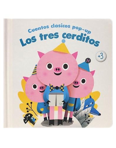 Libro Cuentos Clasicos Pop Up : Los Tres Cerditos