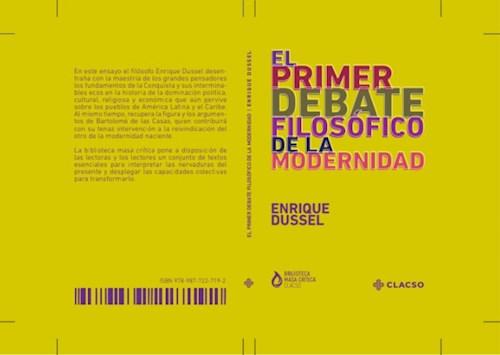 Libro El Primer Debate Filosofico De La Modernidad
