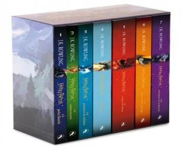 Libro Harry Potter Pack ( Serie Completa )