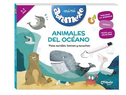 Libro Mini Abremente Animales Del Oceano