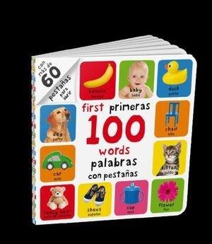 Libro My ( Mis ) First ( Primeras ) 100 Words ( Palabras ) Bilingue