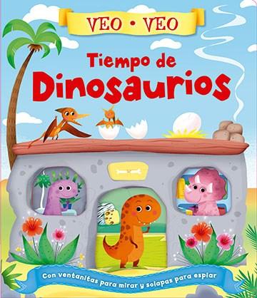 Libro Veo Veo - Tiempo De Dinosaurios