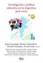 Libro Investigacion Y Politica Educativa En La Argentina Post-2000