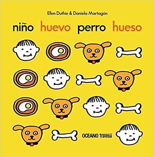 Libro Niño , Huevo , Perro , Hueso