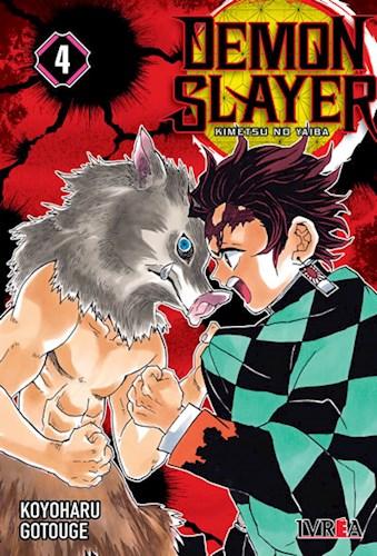 Libro 4. Demon Slayer :  Kimetsu No Yaiba