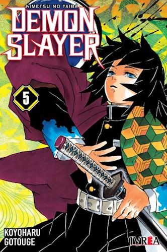 Libro 5. Demon Slayer :  Kimetsu No Yaiba