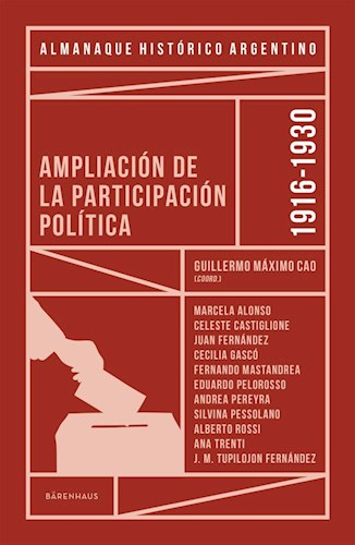 Libro Almanaque Hist.Rico Argentino 1916-1930