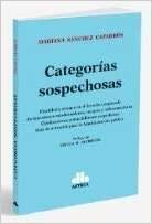 Libro Categorias Sospechosas