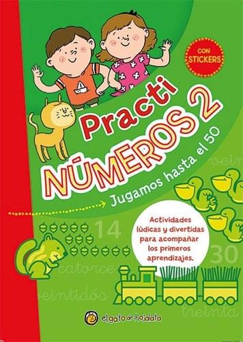 Libro Practinumeros 2 : Jugamos Hasta El 50