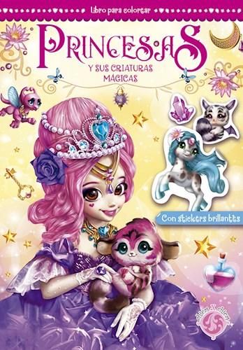 Libro Princesas Y Sus Criaturas Magicas