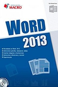 Descargar Word 2013 C/Cd Paredes Bruno Poul