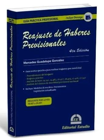 Libro Guia Practica Profesional : Reajuste De Haberes Previsionales