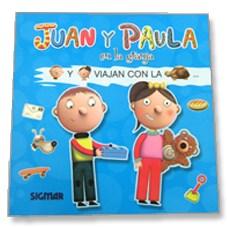 Libro Leo Con Figuras Juan Y Paula