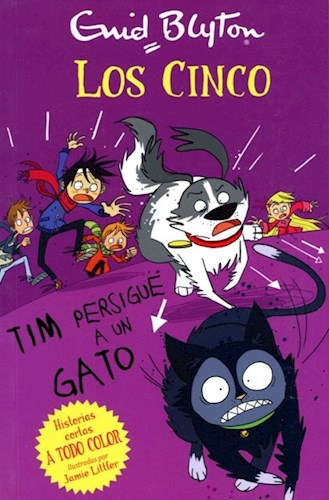 Libro Los Cinco Tim Persigue A Un Gato