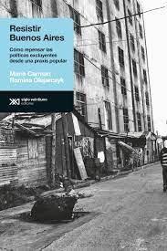 Libro Resistir Buenos Aires