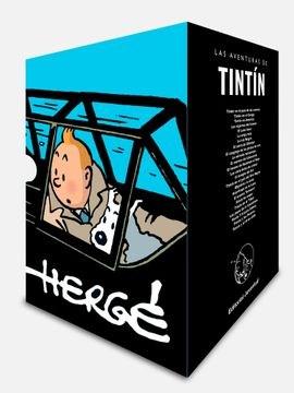 Libro Tintin Cofre Aniversario - 24 Tomos