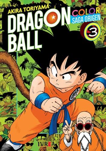 Libro 3. Dragon Ball Color : Saga Origen