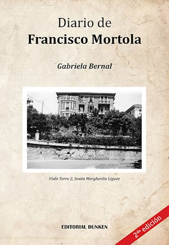 Libro Diario De Francisco Mortola