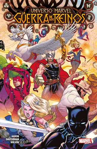 Libro 1. Universo Marvel : La Guerra De Los Reinos