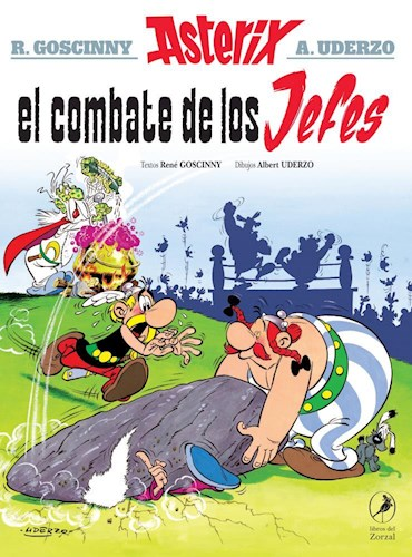 Libro 7. Asterix Y El Combate De Los Jefes