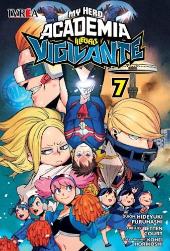 Libro 7. My Hero Academia Illegals : Vigilante