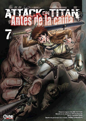 Libro Attack On Titan: Antes De La Caida Vol 7
