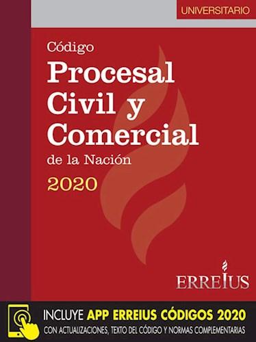 Libro Codigo Procesal Civil Y Comercial 2020 ( Universitario )