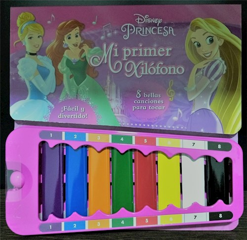 Libro Xilofono Princesas