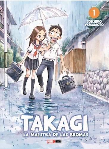 Libro 1. Takagi La Maestra De Las Bromas