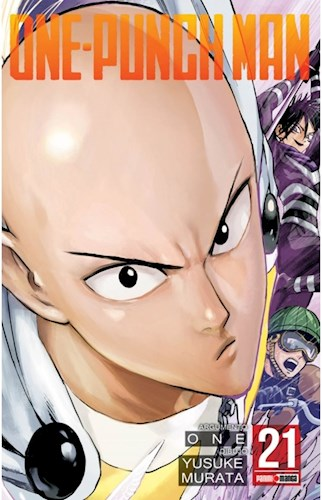 Libro 21. One Punch Man