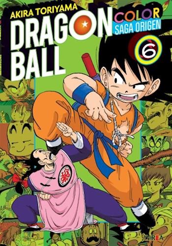 Libro 6. Dragon Ball Color : Saga Origen