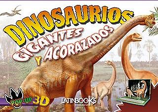 Libro Dinosaurios Pop Up - Gigantes Y Acorazados