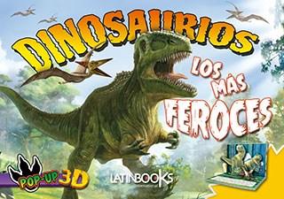 Libro Dinosaurios Pop Up - Los Mas Feroces